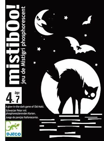 Mistibooh- félelmetes kártyajáték világító lapokkal- Mistiboo-Djeco