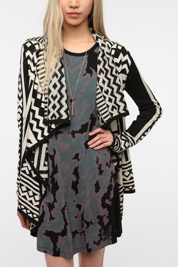 Staring at Stars Array Cardigan at Urban Outfitters. Only comes in sizes XS, S, and M though.