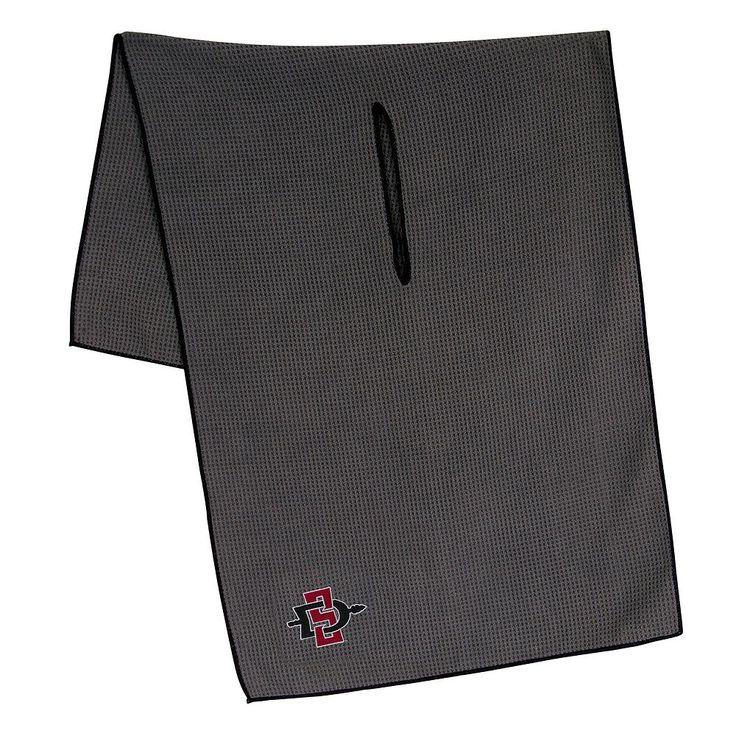 San Diego State Aztecs Microfiber Golf Towel, Multicolor