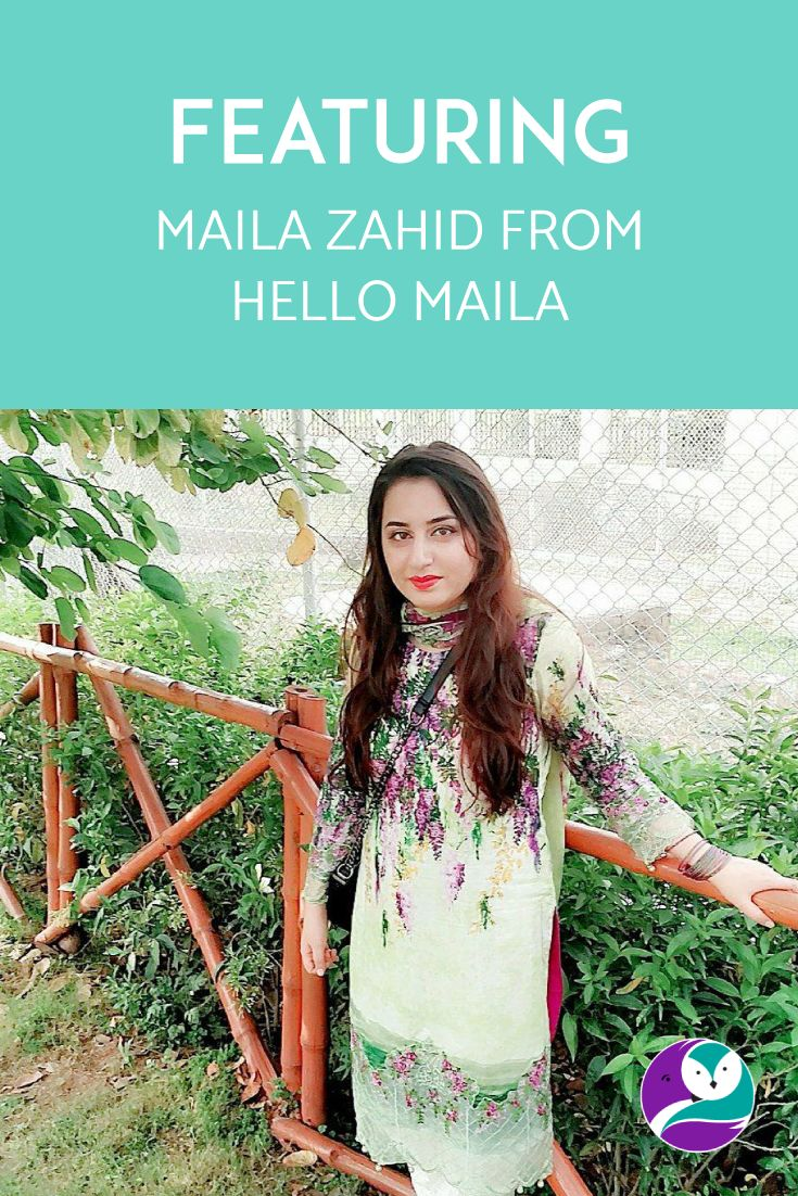 On the blog, I chat to Maila Zahid from Hello Maila. Her business creates messenger chatbots to form part of your digital marketing.
