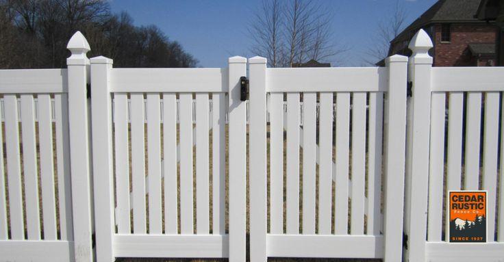 Best 25 Vinyl Gates Ideas On Pinterest White Fence