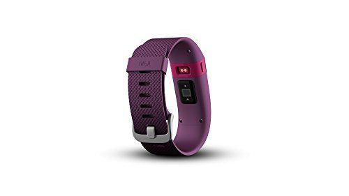 Fitbit Charge HR Wireless Activity Wristband (Plum, Large (6.2 - 7.6 in))   Make every beat count with Fitbit Charge 2-the all-new heart rate and fitness wristband built for all-day, workouts and beyond. PurePulse continuous heart r