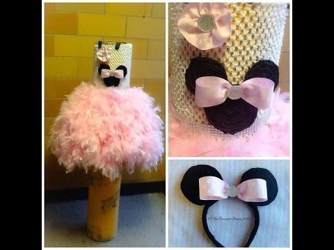 ▶ How to make a NO sew feather tutu - YouTube