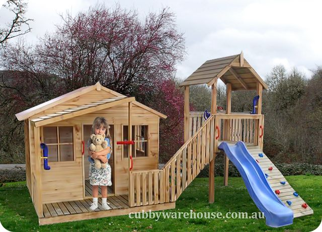 Kimba Castle Cubby House  www.cubbywarehouse.com.au
