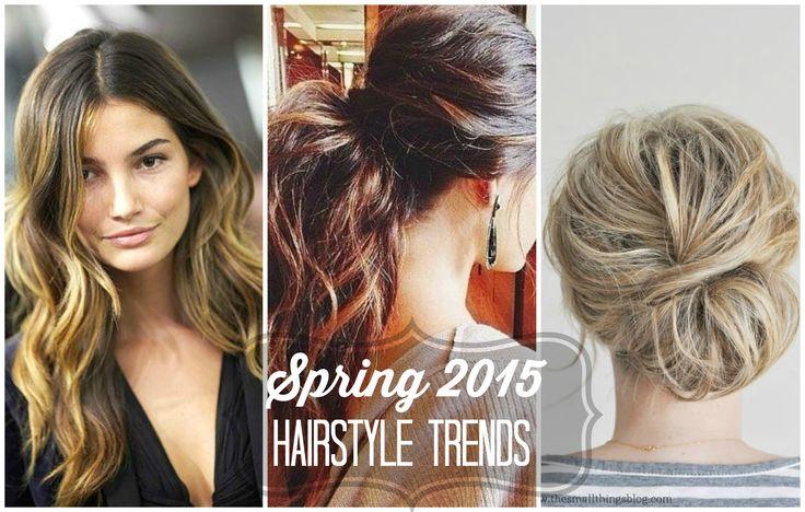 Spring 2015 Hairstyle Trends #spring #hairstyle #trends #2015 #getyourprettyon