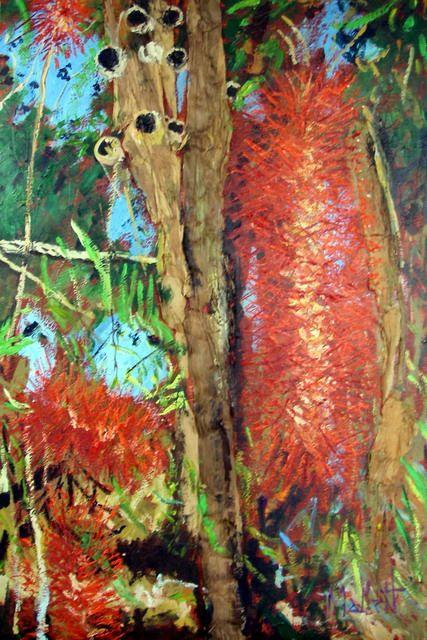 Timmy Mallett - Interests - Painting - bottlebrush