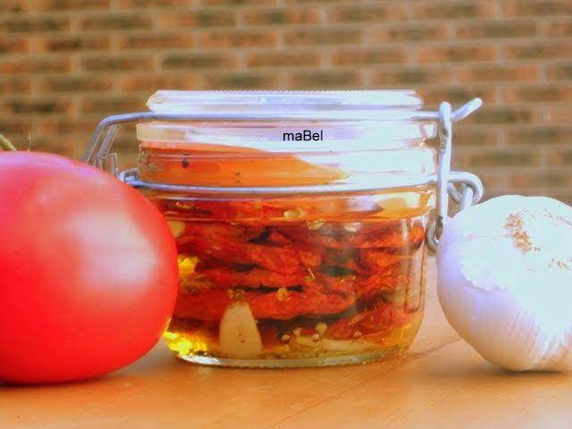 La cocina de ile: Tomates secos en microondas