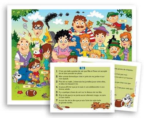 Jeux éducatifs conçus par une orthopédagogue favorisant l'apprentissage par le jeu au primaire et au préscolaire.