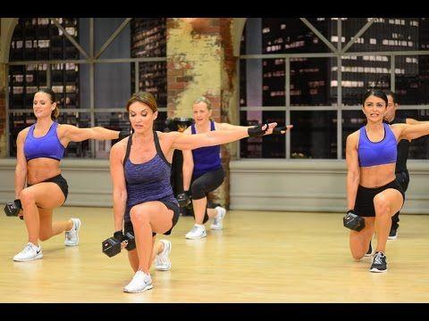 Cathe Friedrich's Lift It HiiT It Legs Workout video