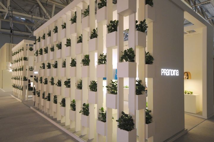 Prandina stand at the Light + Building 2014 fair in Frankfurt. Photos by @Retail Design   www.prandina.it