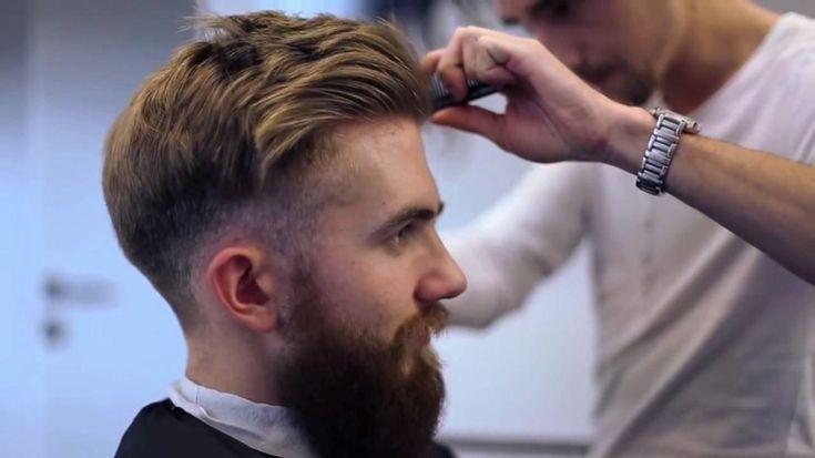 peinados modernos para hombres de estilo hipster