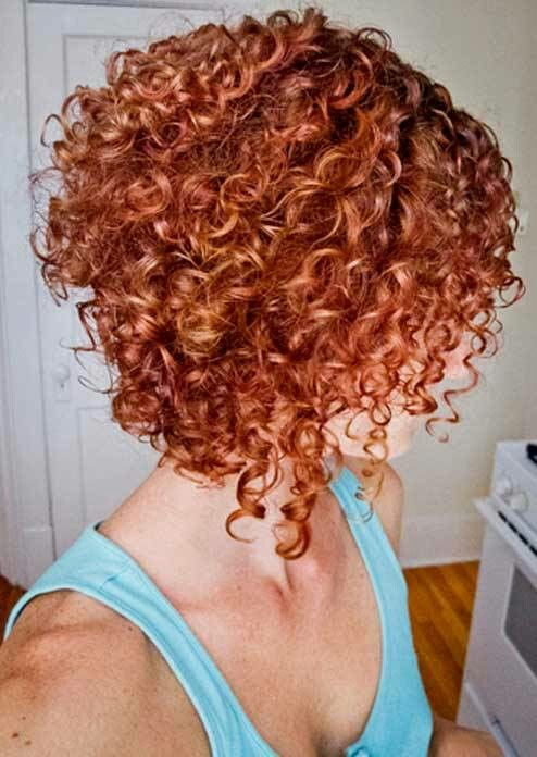 Inverted Bob For Curly Hair Haircuts Curly