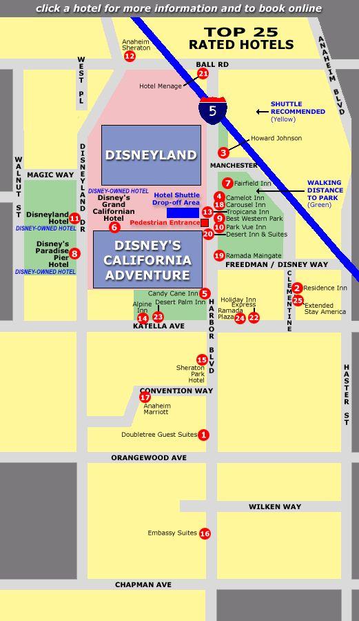 17 Best Ideas About Hotels Around Disneyland On Pinterest