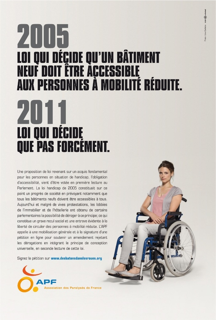 APF - L'Association des Paralysés de France - Accessibilité