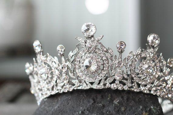 Hey, I found this really awesome Etsy listing at https://www.etsy.com/listing/194750642/edwardian-full-bridal-crown-swarovski
