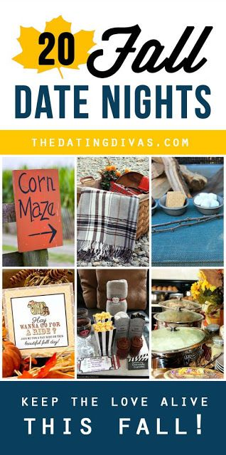 20 Fabulous Fall Recipes, Dates, Family Activities and MORE! | PIN GOOD