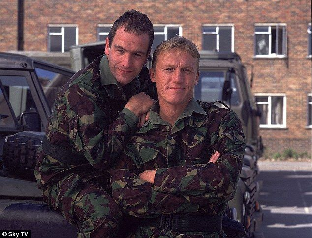 Unchained melody! Robson's most famous role is that in Soldier Soldier opposite Jerome Flynn with whom he had a number one hit with their cover of Unchained Melody
