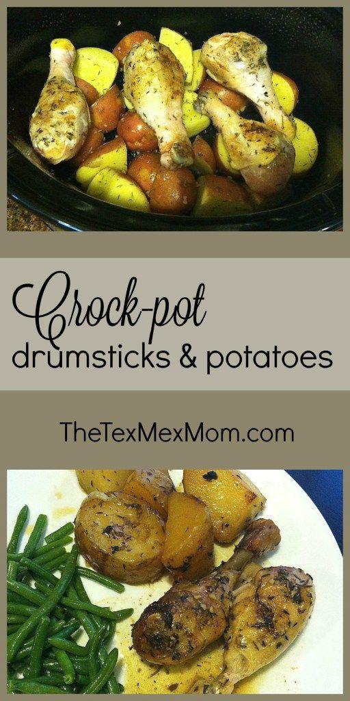 Crock-pot Drumsticks and Potatoes                                                                                                                                                                                 More