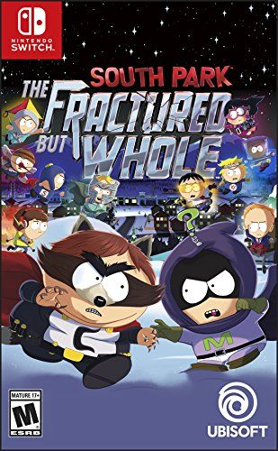 South Park: The Fractured but Whole - Nintendo Switch Standard Edition - From the creators of South Park, Trey Parker and Matt Stone, comes an outrageous sequel to 2014's South Park: The Stick of Truth. In the quiet mountain town of South Park, darkness has spread across the land. An entire squad of superheroes will rise to combat this evil, led by a nocturnal scaveng...