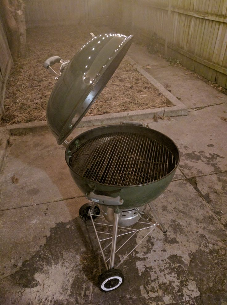 Proud of my little kettle grilling machine. I've never cranked out so much great tasting food now with so little effort. #barbecue #BBQ #food #grill #summer #plancha #party