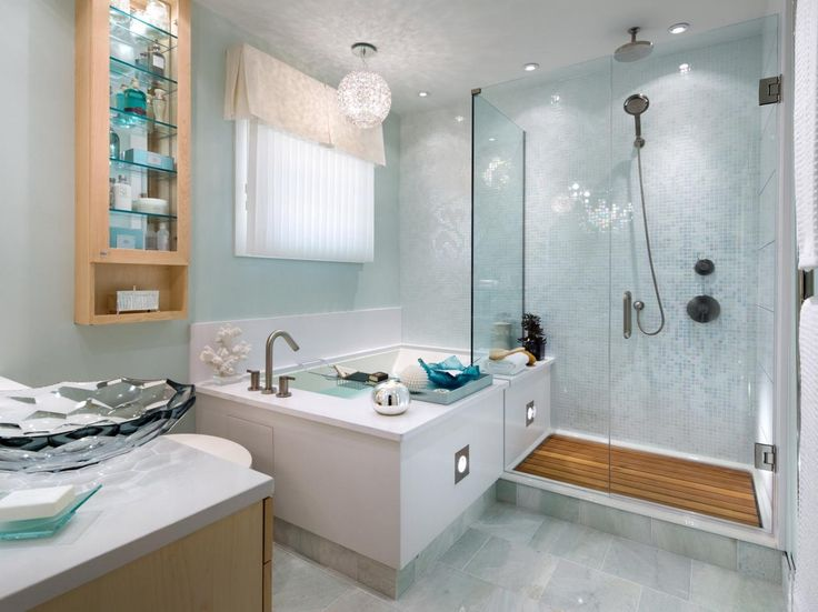 8 bathroom makeovers from fave hgtv designers - Designers Bathrooms