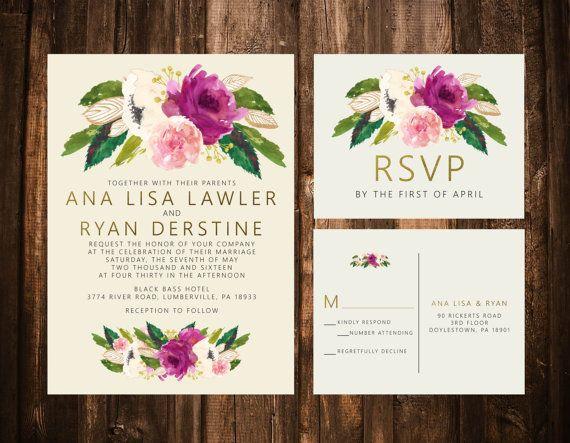 Size Wedding Invitation: 17 Best Ideas About Wedding Invitation Size On Pinterest