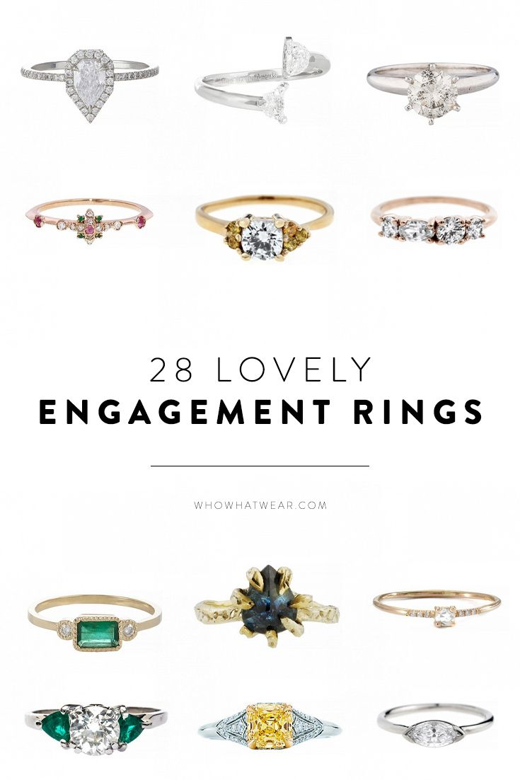 25 best ideas about different engagement rings on