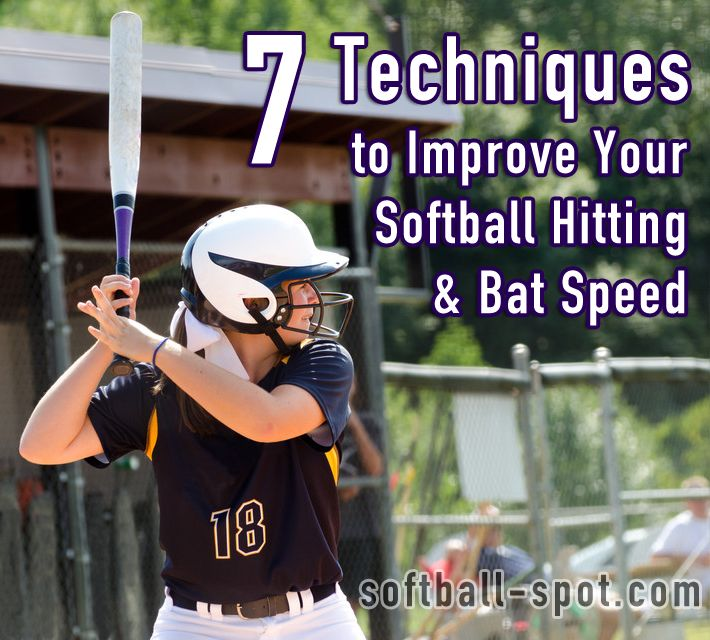 7 Techniques to Improve Your Softball Hitting & Bat Speed This.