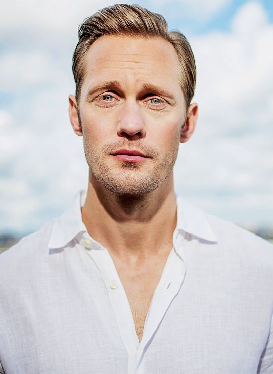 "celebritiesandmovies: "" ""Alexander Skarsgård 