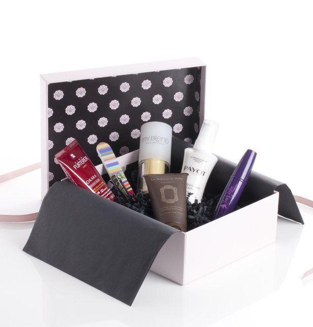 Les 25 meilleures id es de la cat gorie coffrets cadeaux sur pinterest coff - Meilleures box beaute ...