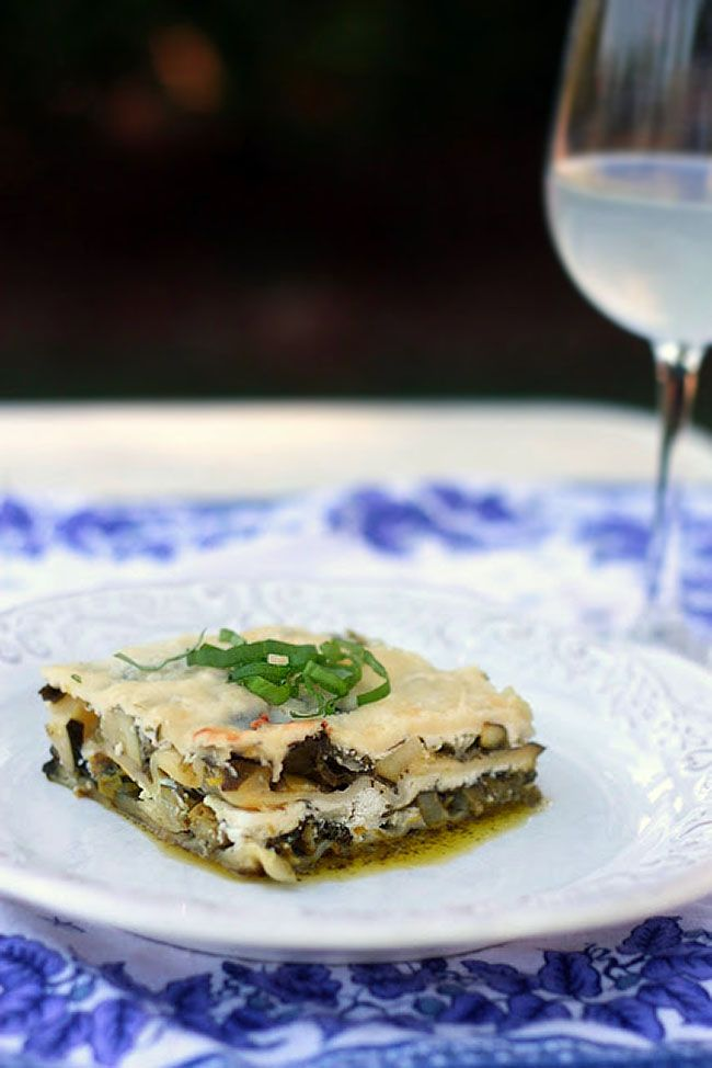 Spring Vegetable and Goat Cheese Lasagna | Noodle cup ...