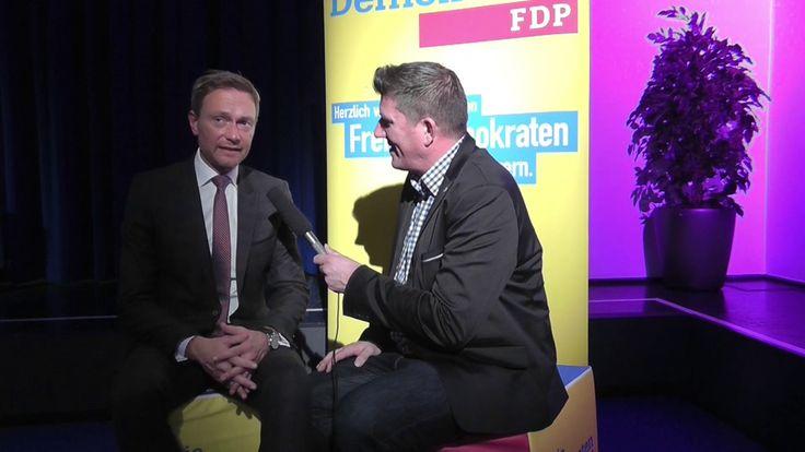 Interview mit Christian Lindner, 03/2017.