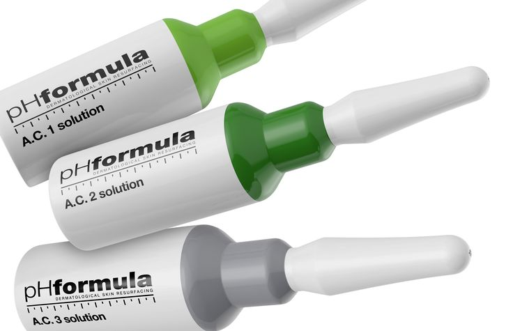 The pHformula A.C.N.E solutions are a unique combination of actives that penetrate and work effectively particularly against whiteheads, acne scars, and oily skin. #acne #solution #skincare