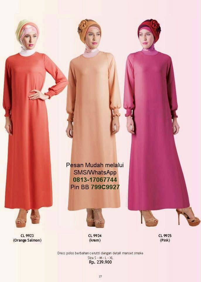Gamis Cantik Model Baju Muslim Terbaru Cantik Berbaju
