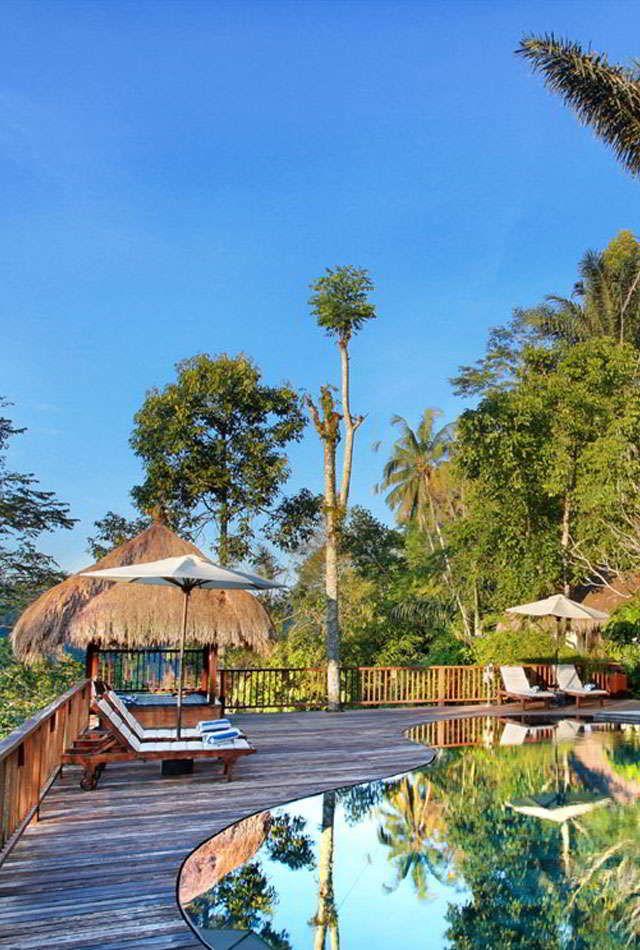 Nandini Jungle Resort & Spa is a luxury resort and villa Ubud located in  beautiful jungle