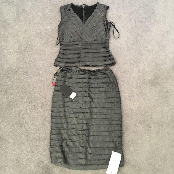 Tadashi Shoji Dresses & Skirts - Tadashi shoj top/skirt set