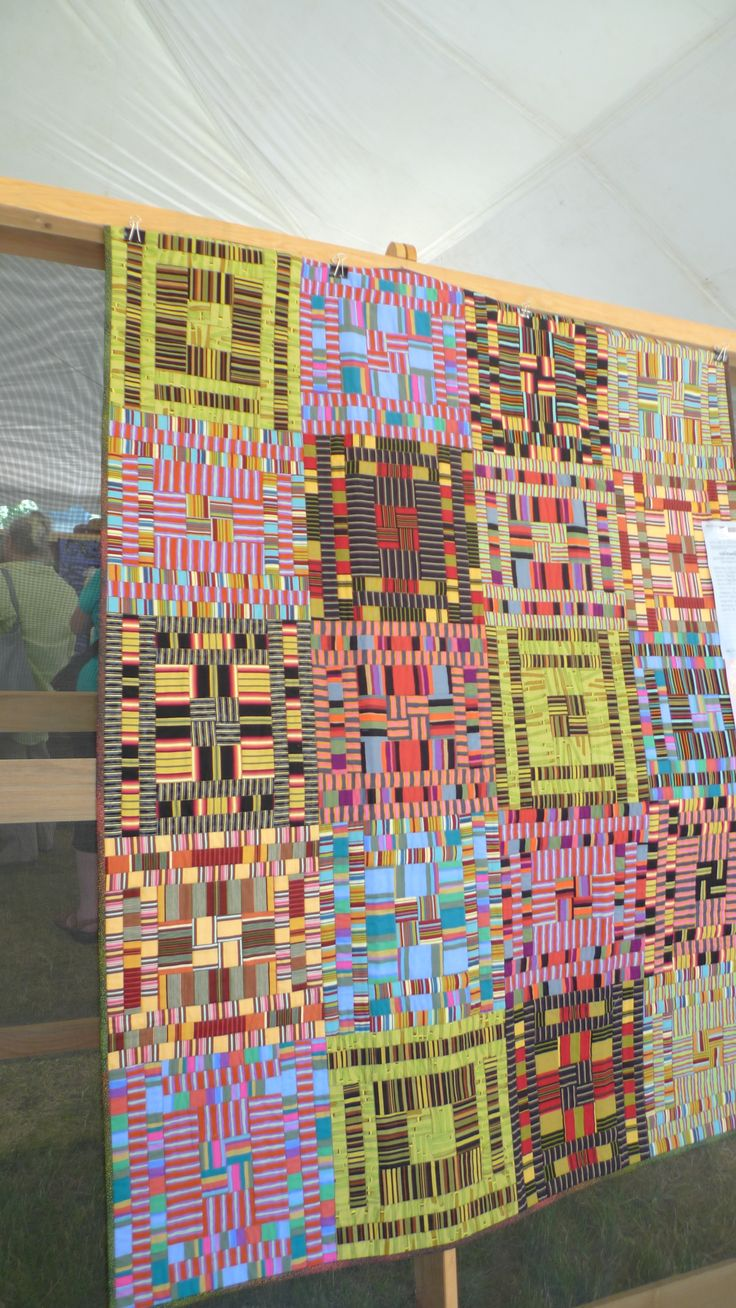 188 Best Images About Art Quilts Striped Fabric Ideas