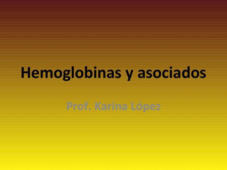 hemoglobina-Instituto de Formación Docente N°51-Pilar via Slideshare