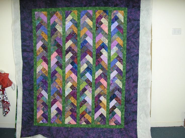 220 Best Images About Quilts French Braid On Pinterest