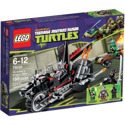 LEGO Teenage Mutant Ninja Turtles Shredders Dragon Bike 79101. 32.90€