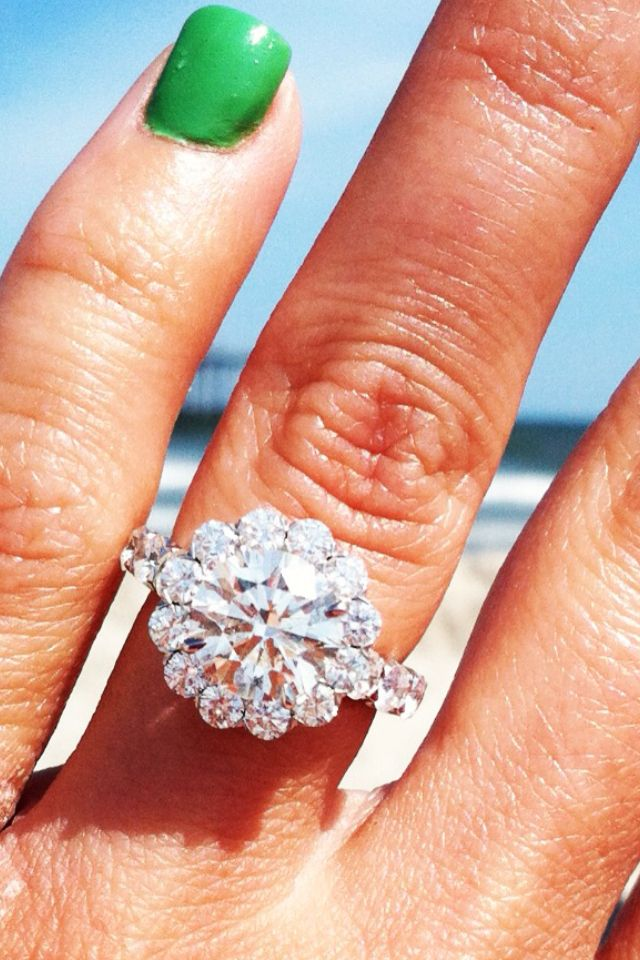 oh...my....Christopher Designs Engagement Ring, i dont like to pin rings, but this is gorgeous.