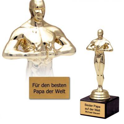 """""""And The Winner Is...!"""" Ehre einen geliebten Menschen mit dieser Statue und zeig ihm, was er Dir bedeutet. Individuell graviert für deine ganz persönliche Auszeichnung. via www.monsterzeug.de"""