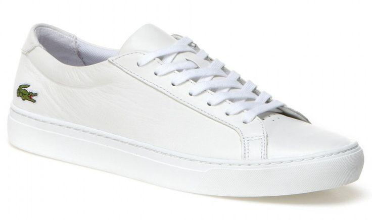 Zapatillas Lacoste hombre Blancas - L1212 | Envio Gratis