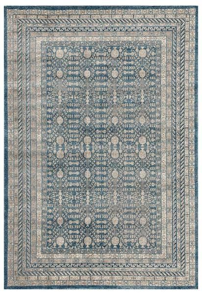 There's nothing quite like the timeless beauty of a traditional rug, like this one from our new Angelus range: Angelus 709 Blue Beige Traditional Designer Rug
