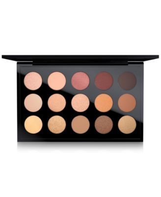 MAC Eye Shadow Palette, Warm Neutral x 15 | macys.com