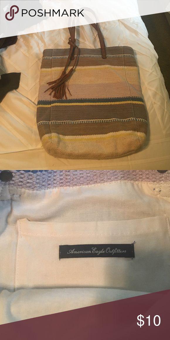 American eagle tote bag Striped American eagle tote bag American Eagle Outfitters Bags Totes