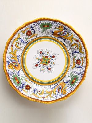 Colorful Wonderful Dinner Plates & 207 best Italian Pottery images on Pinterest | Italian pottery ...