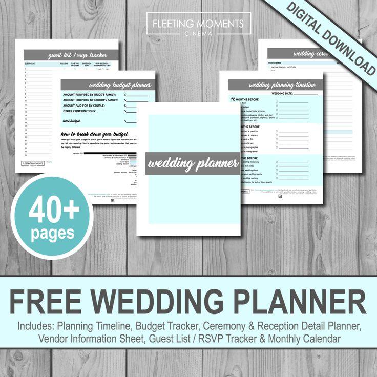 The 25+ best Wedding planner binder ideas on Pinterest Wedding - free printable guest list