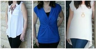 Spring tops for business casual look