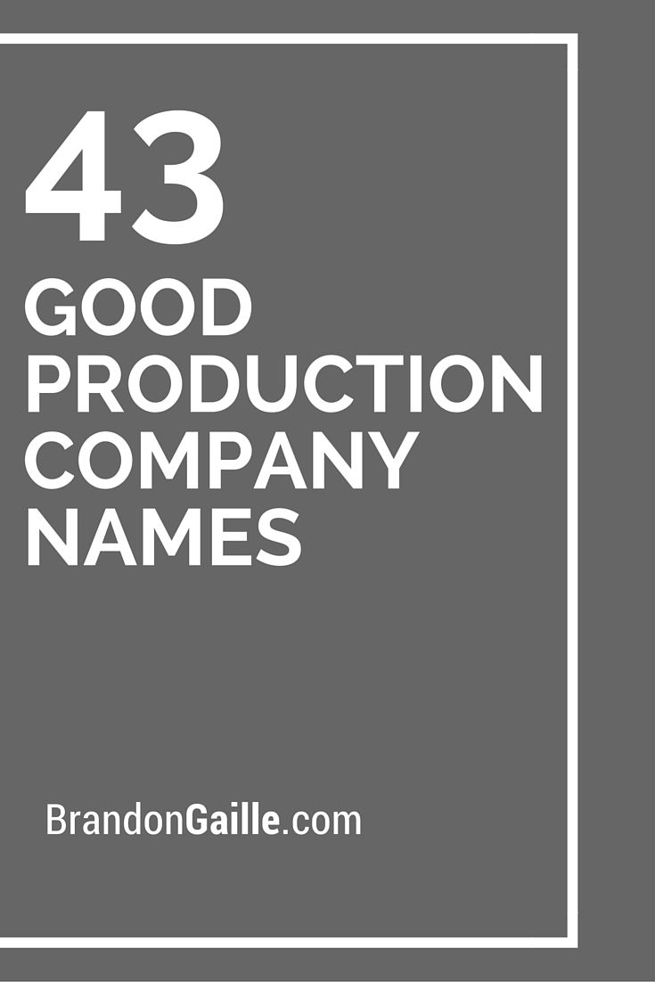 11 best company names (Brand) images on Pinterest | Catchy slogans ...